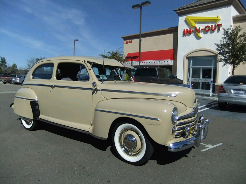 Bill Haselton's 1947 Ford 2dr Sedan