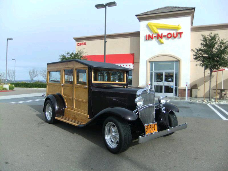 Chuck & Pat Kramer's 1930 Chevy Woodie