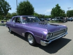 Jerry & Kristy Keller 1964 Dodge Pro Street 426 Fuel Injected  Hemi, Plum crazy with Red Pearl