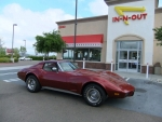 Lana Thompson's 1976 Chevy Corvette Stingray