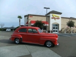 Pete & Caralie Walker's 1947 Ford Sedan