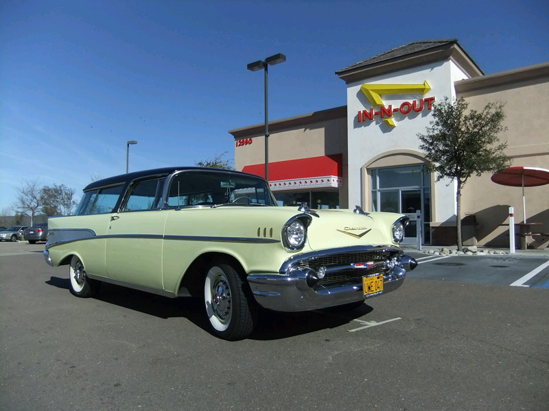 Earl Asbury's 1957 Chevy Nomad