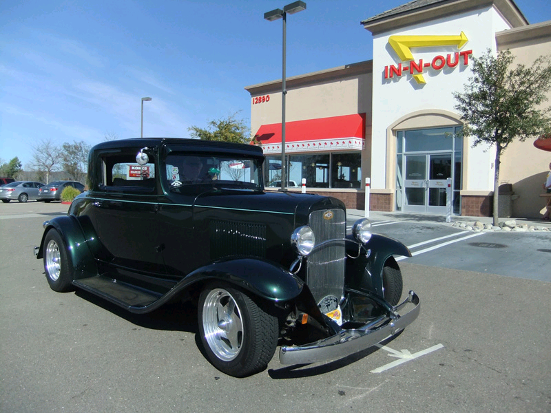 Frank Ruiz's 1931 Chevy 3 Window Coupe