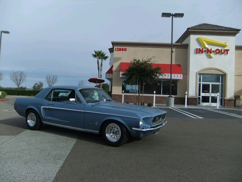 Hollywood & Vine's 1968 Ford Mustang