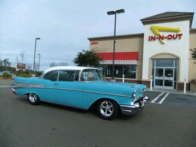 Jim & Elaine Ford's 1957 Chevy Bel Air 2dr