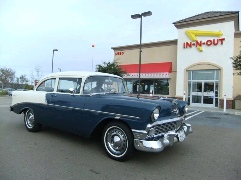 Jimmy Stewart's 1956 Chevy 210 2dr