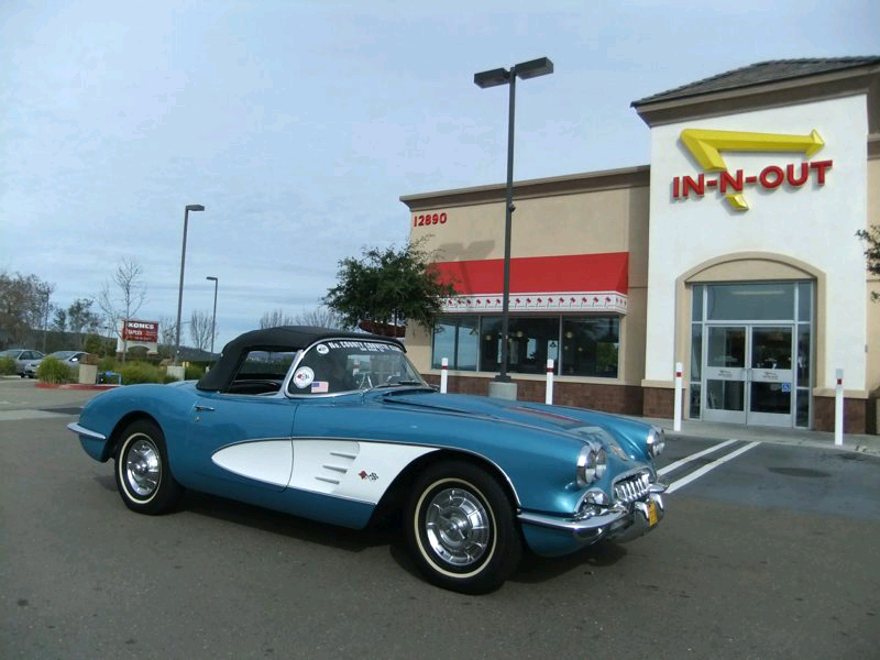 Joe Steinmetz's 1958 Chevy Corvette