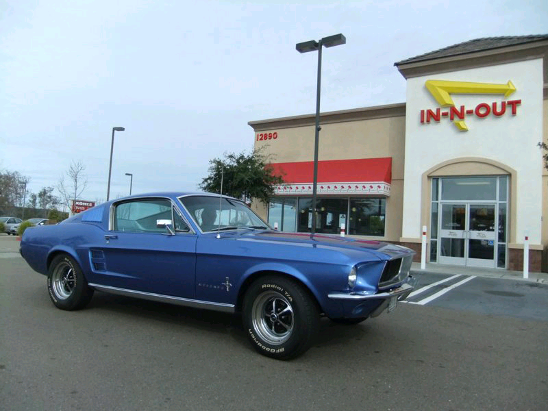 Peggy Troop's 1967 Mustang Fastback