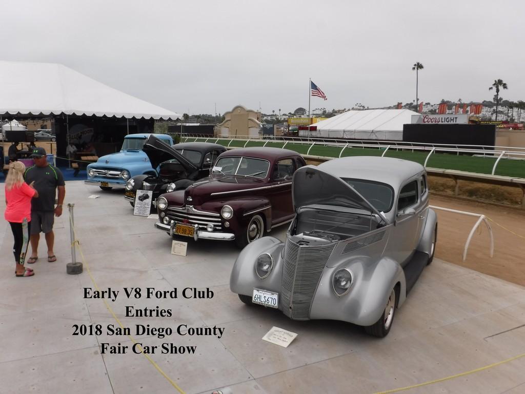 Poway Cruisers At The San Diego County Fair Car Show Poway - San diego classic car show 2018
